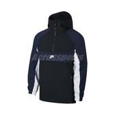 Nike 長袖T恤 NSW Hooded Woven Top 黑 藍 男款 連帽 防風 【PUMP306】 BV5386-010