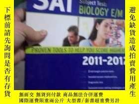 二手書博民逛書店Kaplan罕見SAT Subject Test Biology