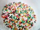 年貨大街 ‧ 巧克力類 ‧ 彩色巧克力米 600g(一斤)【合迷雅好物超級商城】