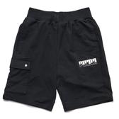 PUMA 短褲 REBEL 黑 白logo 側邊扣戴 短棉褲 休閒 男 (布魯克林) 58295801