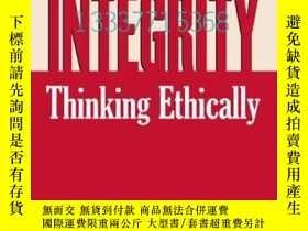 二手書博民逛書店【罕見】Professional Integrity: Thin