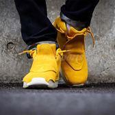 Nike Air Jordan 18 Retro Suede 黃 白 麂皮鞋面 喬丹 18代 男鞋 籃球鞋【PUMP306】 AA2494-701