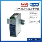 明緯 120W軌道式電源供應器(SDR-120-12)