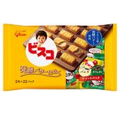 格力高奶油夾心餅乾家庭號-咖啡【愛買】