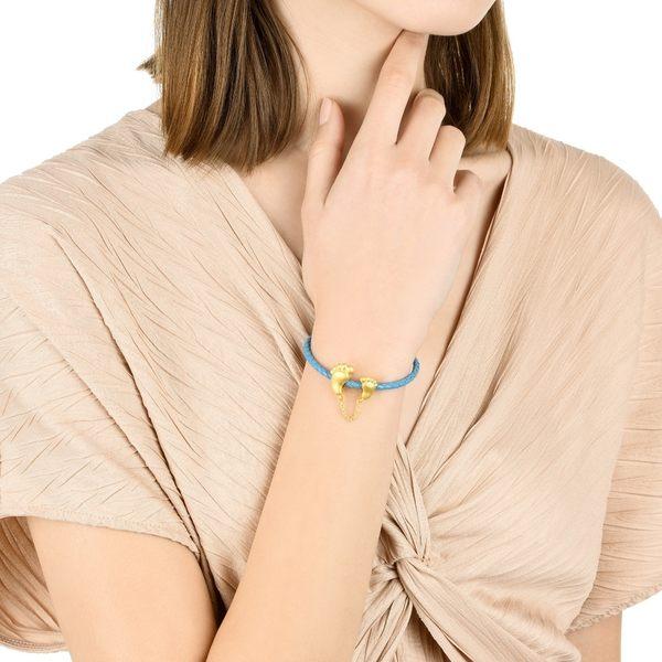 點睛品 Charme 愛的足印 黃金串珠