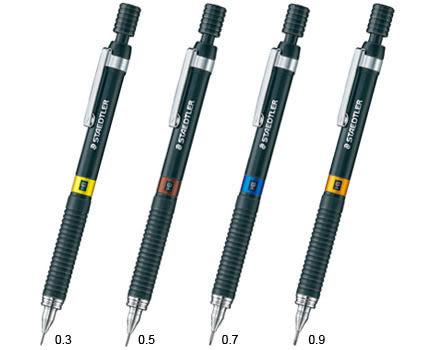 德國施德樓 TAEDTLER-925系列0.5自動鉛筆*黑桿精準型*MS925