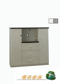 【環保傢俱】塑鋼電器櫃.塑鋼碗盤櫃(整台可水洗.緩衝門片不夾手)244-02