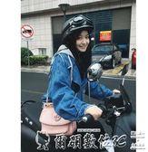 機車頭盔哈雷頭盔女輕便式夏季半盔電動摩托車可愛機車四季頭盔男 爾碩數位