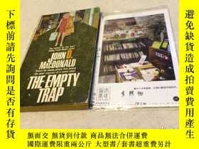 二手書博民逛書店英文原版罕見the empty trapY181828 John