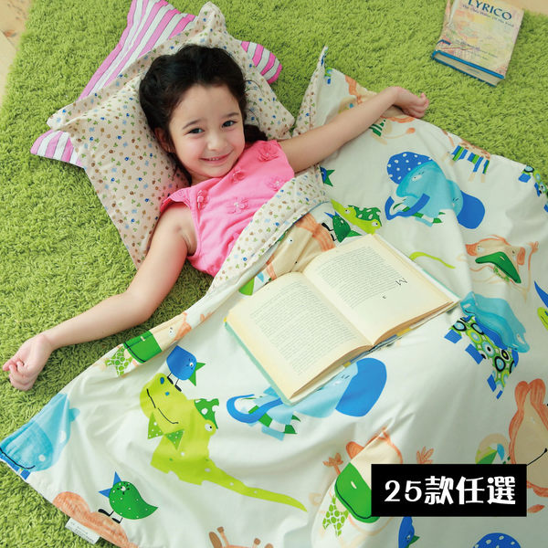 【VIXI】親親寶貝《熱銷限定版》精梳棉童被小枕超值組(25款)