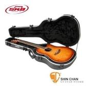 吉他硬盒 ►民謠吉他專用硬盒 SKB SKB-16 圓背/葡萄孔/OVATION型  可鎖【SKB6】