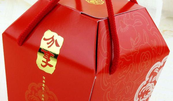 中號 分享 天燈盒 抽繩提盒 禮品包裝盒 紙盒 餅乾糖果盒C051