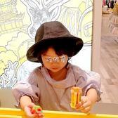 贝雷帽 秋冬款親子帽女貝雷帽男百搭遮陽兩用盆帽時尚保暖兒童漁夫皮帽 珍妮寶貝