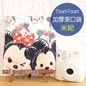 菲林因斯特《 Tsum 米妮 加厚束口袋 》 正版授權 Disney 迪士尼 滋姆 Minnie Mouse 相機束口袋