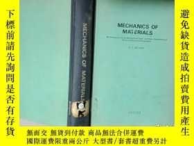二手書博民逛書店mechanics罕見of materials .Y12498
