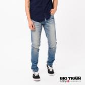 Big Train COOLMAX丹寧水洗窄直筒褲-男-BM8021