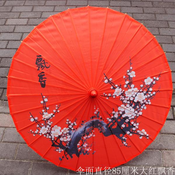 油紙傘女演出中國風舞蹈傘