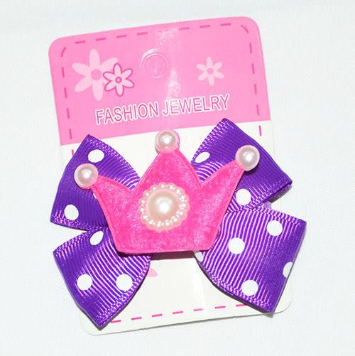 [萬萊批發]   手工製作小女童髮夾(第二部份)