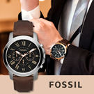 FOSSIL 美式復古風格時尚腕錶 FS...