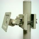 [SD]電腦液晶螢幕短型旋轉手臂(夾柱型)-台灣製造VESA標準