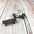 BEAGLE 板凳(小) 仿木頭 小椅子...