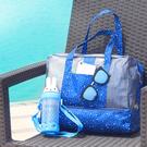 韓式乾濕分離沙灘游泳包