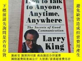 二手書博民逛書店How罕見to Talk to Anyone.Anytime.A