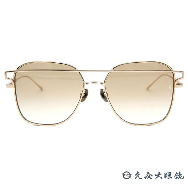 SUNDAY SOMEWHERE 太陽眼鏡 Jesse (金) 個性 墨鏡 久必大眼鏡