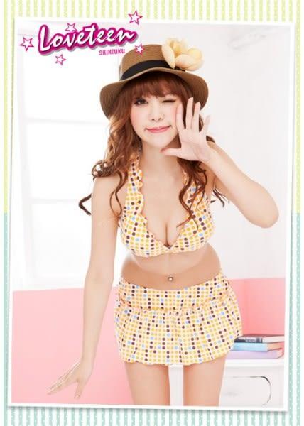 夏之戀LOVETEEN時尚點點比基尼二件式泳衣-A6795
