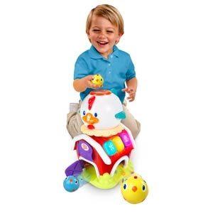 【奇買親子購物網】Kids II-來玩球吧-開心小雞學習屋