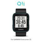 兩片裝 Qii GARMIN Forerunner 35 玻璃貼 鋼化玻璃貼 自動吸附 2.5D弧邊 手錶保護貼