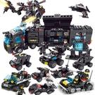 拼裝玩具兼容legao積木男孩子益智力動腦拼裝玩具兒童6歲汽車模型我的世界 【快速出貨】