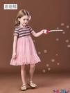 兒童連身裙 女童連身裙短袖蓬蓬紗裙子夏季洋氣女寶寶2021新款夏裝兒童公主裙 618狂歡
