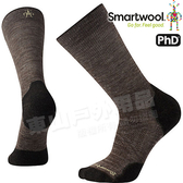 Smartwool PhD OD LT SW001069-236褐 男戶外輕量級減震中長襪 美麗諾羊毛襪/戶外襪機能排汗襪/健行襪雪襪