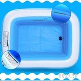 嬰兒小孩充氣泳池家用兒童加厚泳池 JH1231『俏美人大尺碼』