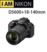 [EYEDC] Nikon D5600 KIT 18-140mm 國祥公司貨 (12/24期0利率)