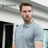 歐美風薄款速干運動Polo衫 2020新品翻領短袖t恤男士tshirt