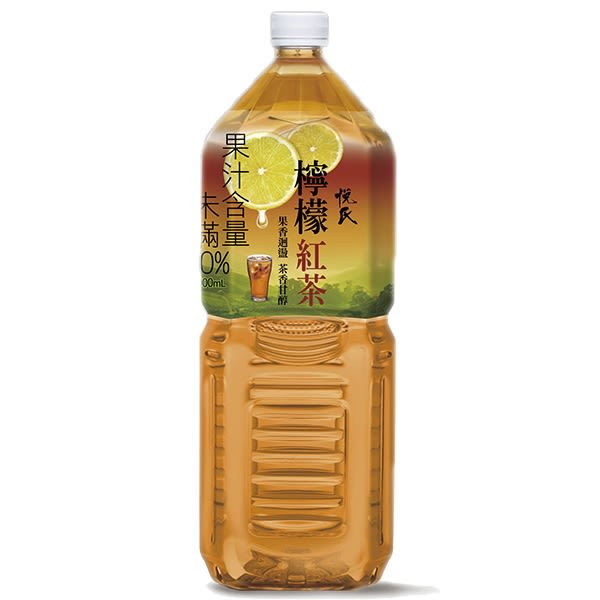 悅氏 礦泉茶品 檸檬紅茶 2000ml