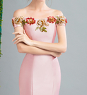 (45 Design)    7天到貨 客製化顏色大尺碼訂做訂做 日韓婚紗長禮服 高級訂製小禮服 大尺碼20
