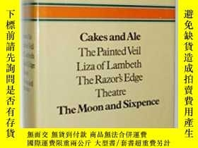二手書博民逛書店Cakes罕見and Ale,the Painted Veil,