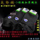 氣墊襪- 特殊加厚織法 ●止滑●排汗●防臭 毛巾底編織