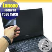 【Ezstick】Lenovo Y530 15 ICH 靜電式筆電LCD液晶螢幕貼 (可選鏡面或霧面)