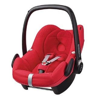 MAXI-COSI Pebble (頂級款)新生兒提籃-紅