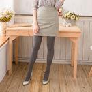 300D條紋時尚顯瘦褲襪 (煙灰色)