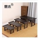 交換禮物燒桐木折疊飄窗桌日式小茶幾矮桌榻榻米炕幾炕桌實木和室幾桌惠木 LX