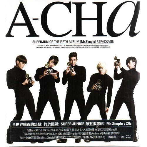 SUPER JUNIOR A-CHA CD 第五張韓文專輯C版 免運 (購潮8)