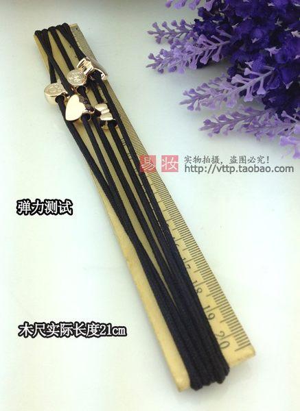 【髮飾髮圈】韓國髮飾頭花皮筋頭繩髮圈紮頭發橡皮筋黑髮繩頭飾(隨機出貨) 【H00304】