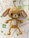 【震撼精品百貨】Sugarbunnies 蜜糖邦尼~三麗鷗蜜糖邦尼立體造型吊飾/鑰匙圈-咖啡#36027