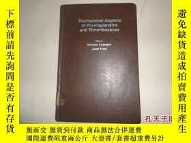 二手書博民逛書店Biochemical罕見Aspects Of Prostaglandins And Thromboxanes