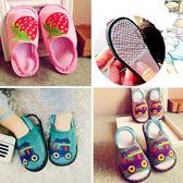 手工納底童防滑嬰幼兒室內寶寶棉拖鞋【不二雜貨】